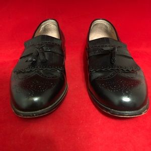 Bostonian Classic First Flex Black Loafers